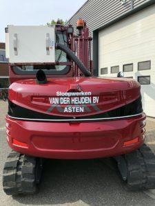 nieuw wagenpark - sloop en graafmachine - van der heijden 3